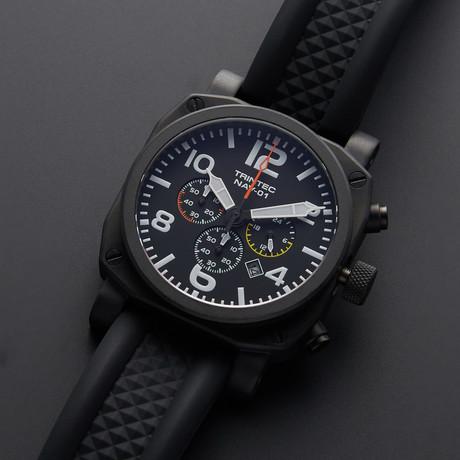 Trintec NAV-01 Pilot Chronograph Quartz // NAV-01-B