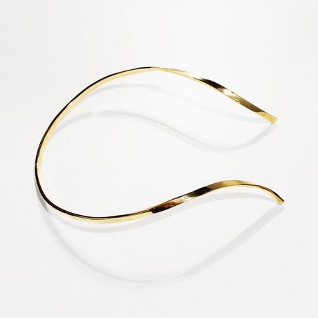 Bandeau Necklace // Brass