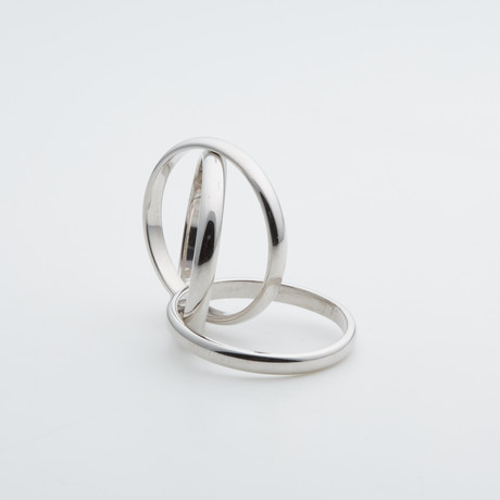 Argentium Sterling Silver Ring // Rolling (7)