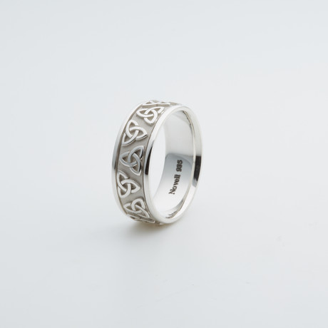 Argentium Sterling Silver Ring // Celtic (7)