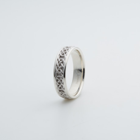 Argentium Sterling Silver Ring // Celtic Knot (7)
