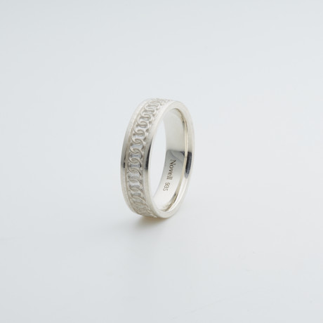 Argentium Sterling Silver Ring // Multicircle (7)