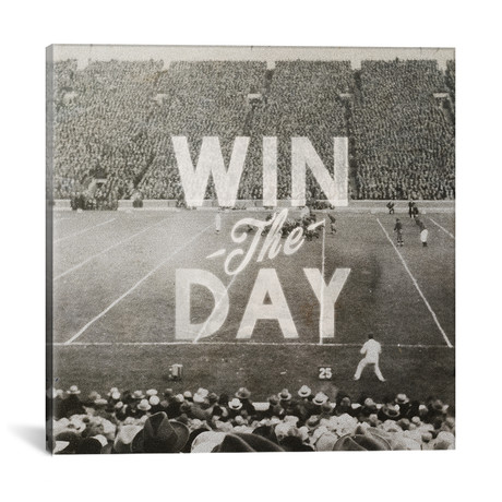 """Win The Day // Heather Landis (18""""W x 18""""H x 0.75""""D)"""