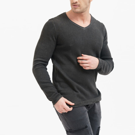 Maurice Pullover // Anthracite (S)