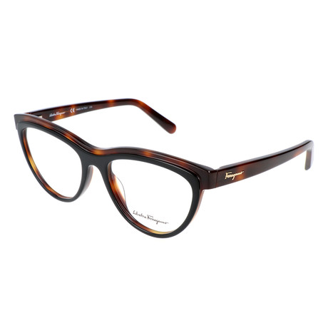 Women's SF2750 Optical Frames // Black + Havana