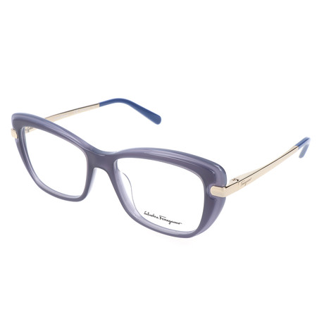 Unisex Taylor Optical Frames // Dark Blue + Blue