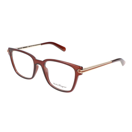 Salvatore Ferragamo // Women's Nia Optical Frames // Brown