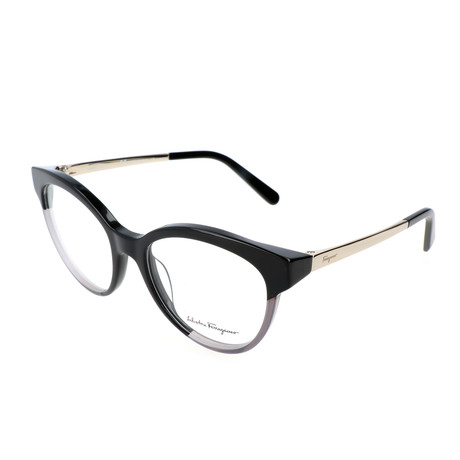 Women's SF2784 Optical Frames // Black + Gray