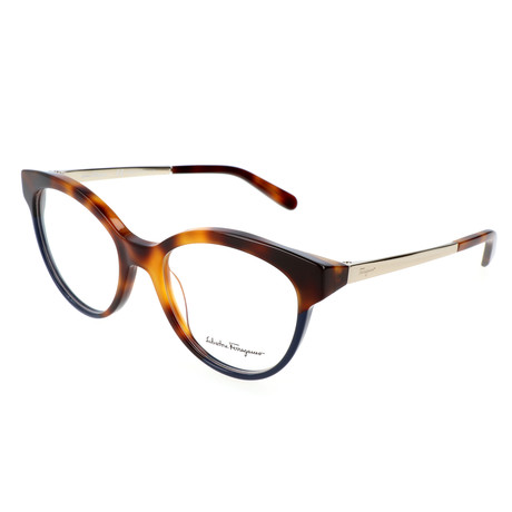 Women's SF2784 Optical Frames // Havana + Blue