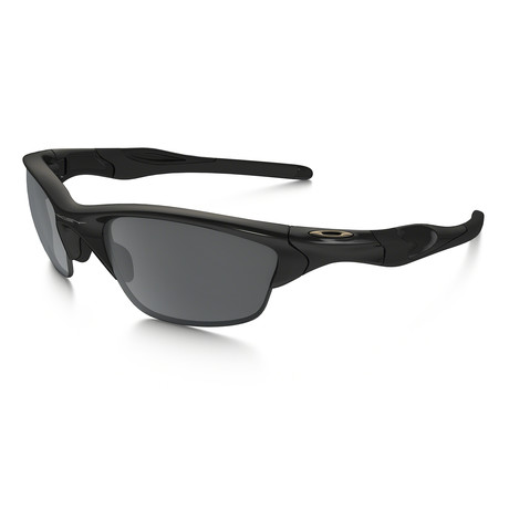 Oakley Half Jacket® 2.0 (Asia Fit) Sunglasses // Polished Black Frames + Black Iridium Lenses