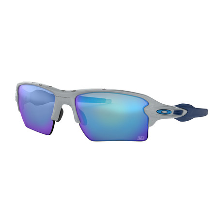 Oakley Flak® 2.0 Xl Team USA Sunglasses // Gray Frames + Prizm Sapphire Lenses
