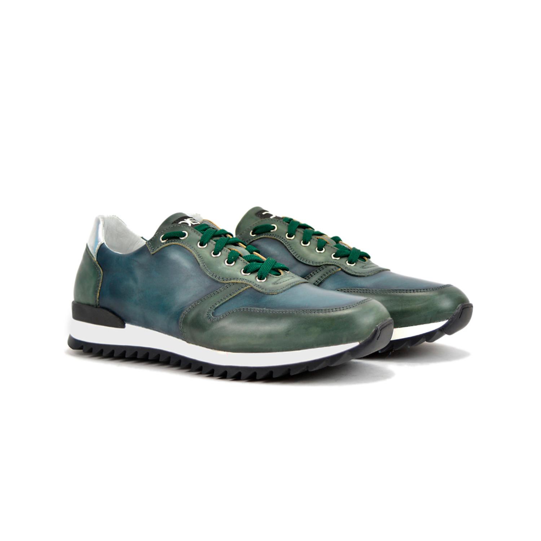 Italo Low Top Sneaker Deco Green + Blue (Euro: 42) DIS