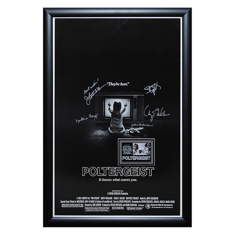 Signed Movie Poster // Poltergeist