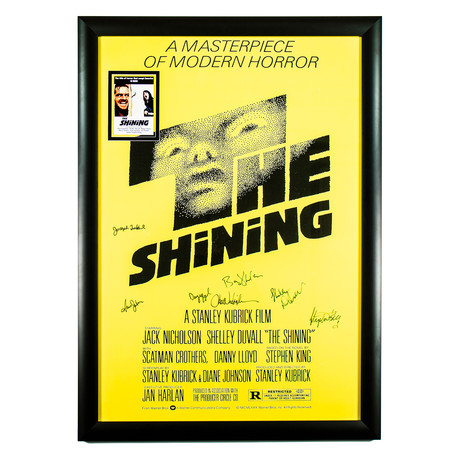 Signed Movie Poster // The Shining II