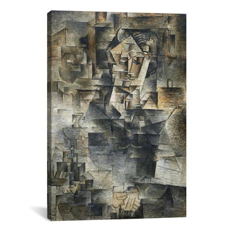 Portrait of Daniel-Henry Kahnweiler // Pablo Picasso // 1910