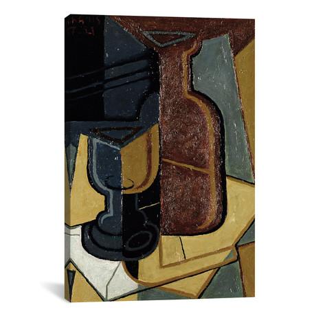 """The Letter // Juan Gris // 1921 (26""""W x 18""""H x 0.75""""D)"""