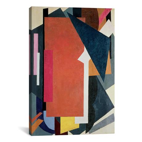 """Painterly Architectonics // Lyubov Popova // 1916-17 (26""""W x 18""""H x 0.75""""D)"""