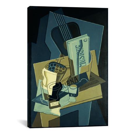 """Music Book (Le Cahier de Musique) // Juan Gris // 1922 (18""""W x 26""""H x .75""""D)"""
