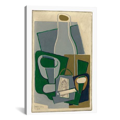 """Pipe et Paquet de Tabac // Juan Gris // 1922 (26""""W x 18""""H x 0.75""""D)"""