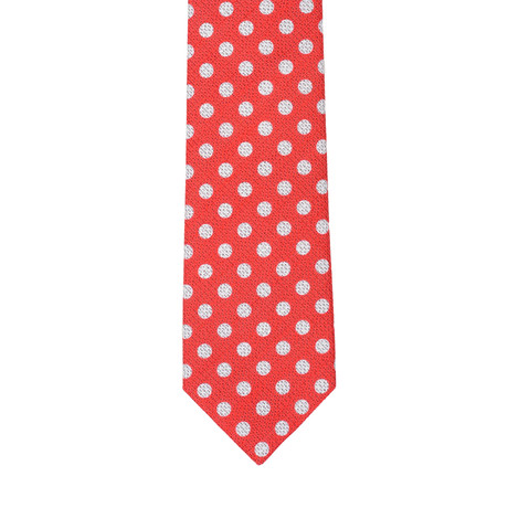 Formicola // Polka Dot Tie // Red