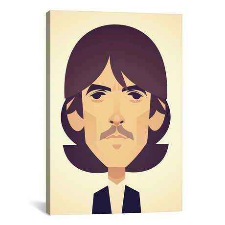 """George Harrison (26""""W x 18""""H x 0.75""""D)"""