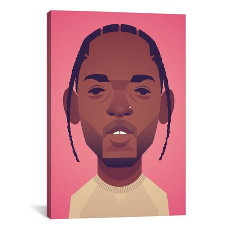 """Kendrick Lamar (26""""W x 18""""H x 0.75""""D)"""
