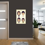 """The Beatles // Stanley Chow (18""""W x 26""""H x 0.75""""D)"""