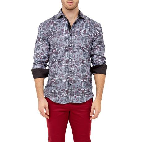 Nick Button-Up Shirt // Black (XS)