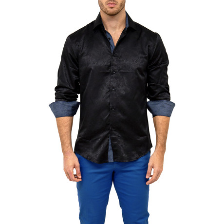 Fred Button-Up Shirt // Black (XS)