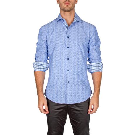 John Button-Up Shirt // Blue (XS)
