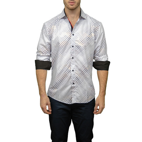 Peter Button-Up Shirt // White (XS)