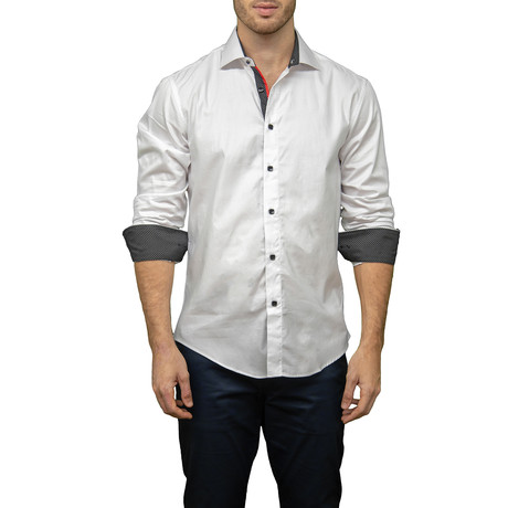 Alex Button-Up Shirt // White (XS)