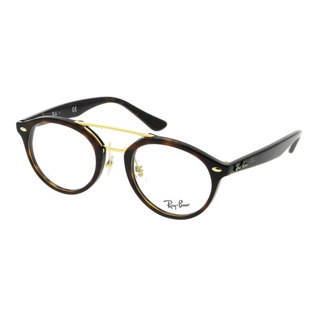Unisex Acetate Optical Frame // Top Brown Havana + Havana
