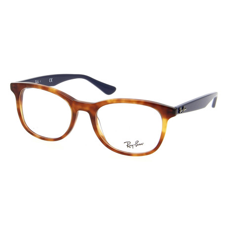 Unisex 0RX5356 Optical Frames // Shiny Red + Havana