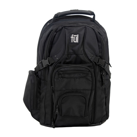 Tennman Laptop Backpack // Black