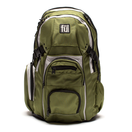 TMan Laptop Backpack // Olive