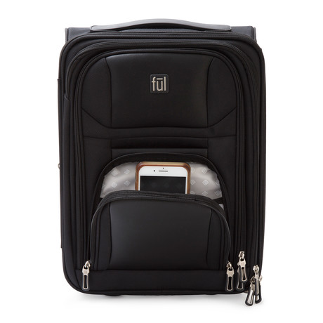 Crosby Carry-On Luggage // Black
