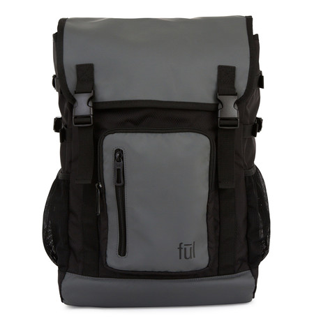 Alpha Laptop Backpack // Gray