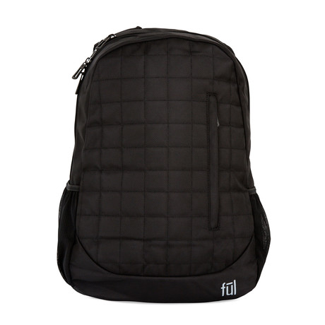 Alto Laptop Backpack // Black