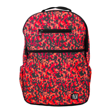 Accra Laptop Backpack // Pink Camo