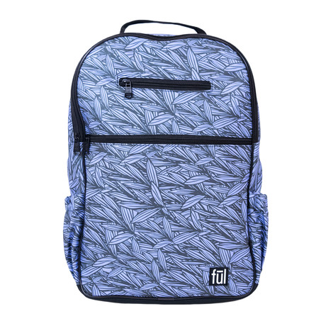 Accra Laptop Backpack // Blue Leaf