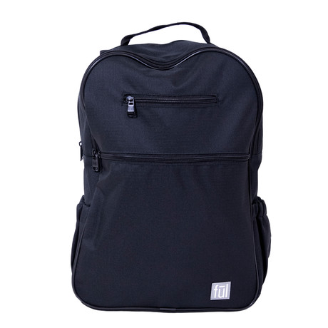 Accra Laptop Backpack // Black