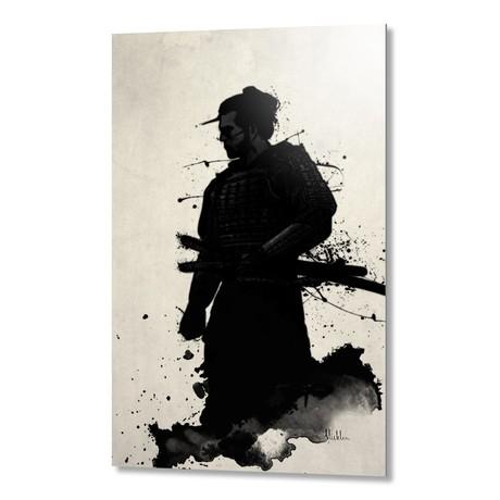 "Samurai // Aluminum Print (16""W x 24""H x 1.5""D)"