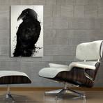 The Raven // Aluminum Print