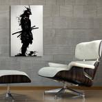 Armored Samurai // Aluminum Print