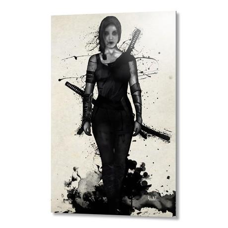 "Onna Bugeisha // Aluminum Print (16""W x 24""H x 1.5""D)"