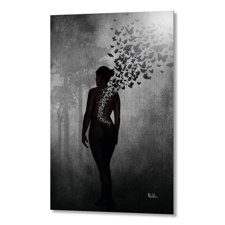 The Butterfly Transformation // Aluminum Print