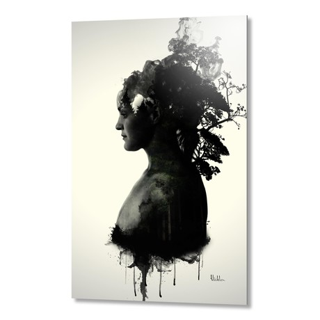 "Mother Earth // Aluminum Print (16""W x 24""H x 1.5""D)"