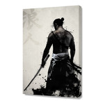 "Ronin // Stretched Canvas (16""W x 24""H x 1.5""D)"