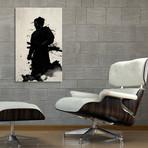 """Samurai // Stretched Canvas (16""""W x 24""""H x 1.5""""D)"""
